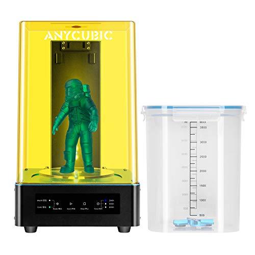 Anycubic Wash & Cure per modelli di stampante LCD/DLP 3D, polimerizzatore UV LED con 405 nm / 356 nm per Mars Photon S e altri
