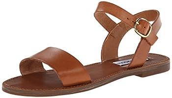 Steve Madden Women s Donddi Dress Sandal Tan Leather 8 M US