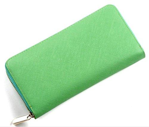 Brilliance Co Portafogli Donna Classico Verde