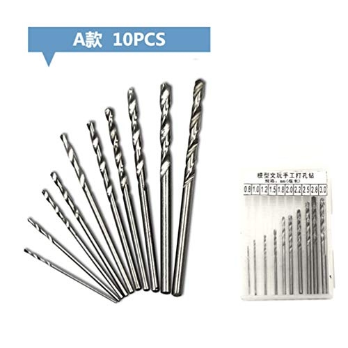 2 pcs 8.5mm Twist Jobbers Drill bits Metric High speed steel cutting hs hss 2pc