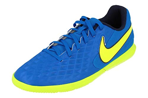 Nike Legend 8 Club IC Uomo Scarpe de Calcio AT6110 Trainers Scarpe (UK 7 US 8 EU 41, Soar Volt Midnight Navy 474)