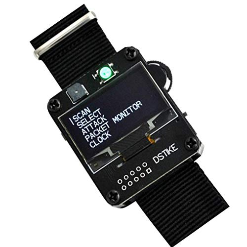 PRENKIN Inteligente Reloj Junta WiFi Deauther Muñequera ESP8266 Desarrollo de Repuesto para Arduino ESP8266, Deauther Reloj