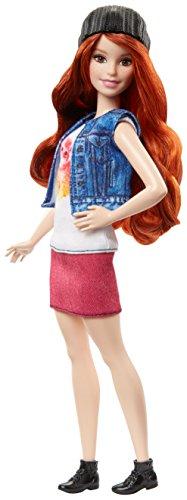 Barbie - Fashionista, muñeca Cool con Camiseta de Gatitos (