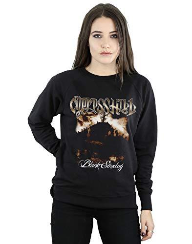 Absolute Cult Cypress Hill Femme Black Sunday Sweat-Shirt Noir Medium
