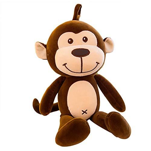 Pequeño Mono De Peluche De Juguete Lindo Animal Niño Muñeca Felpa Almohada De Confort para Dormir,A,60CM