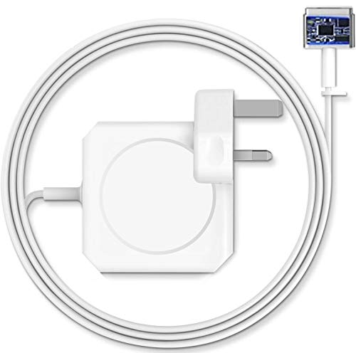 Compatible with OOTOMI MC-Book Pro charger, AC 60w Magsefe 2 power adapter, magnetic T-Tip connector charger, suitable for 13-inch Mac Book Air (models before mid-2012)…
