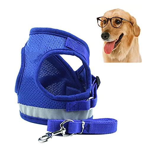 WZWHJ Useful Multifunction Dog Car Harness Connector Strap Pet Car Harness Vehicle Seat Belt with Adjustable Strap for Small Medium Dogs Cats (Size : L/Large)