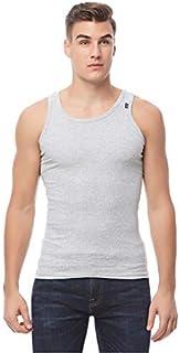 COTTONIL Men's Sleeveless Undershirt Derby, Grey