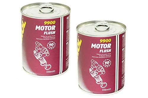 MANNOL Motor Flush Reiniger 2 Stück á 350 ml für Kraftfahrzeuge