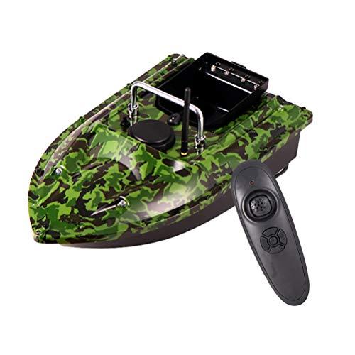 ANAN Barco de Pesca 2-3 Horas duración la batería, Barco Cebo Pesca RC Mando a Distancia 2,4Ghz, Barco Cebo Control Remoto Distancia Control Remoto 500m, 1,5kg Capacidad Carga,B