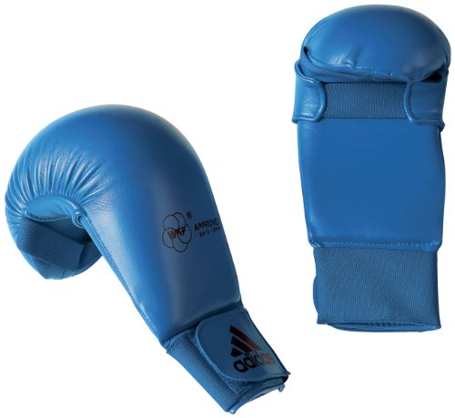 adidas Karate 611.11 WKF Handschuhe Unisex M Blau - Blau