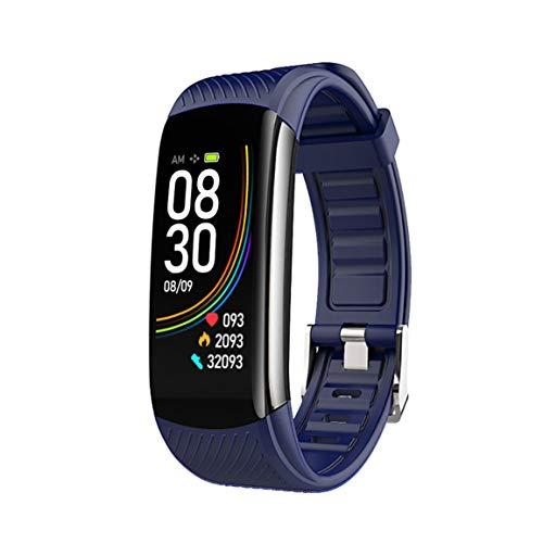 C6T Smart información sobre el reloj de pulsera Push Push Ejercicio de sueño Step Smart pulsera para mujer impermeable