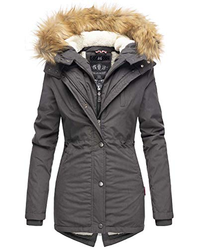 Marikoo Designer dames winter parka warm winterjas jas jas B601