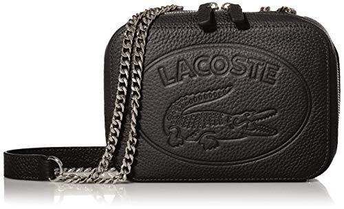 Lacoste Croco Crew Crossbody Bag Black One Size