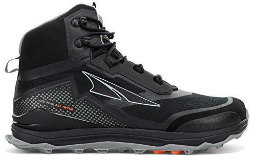 ALTRA Men's AL0A4VQH Lone Peak All-WTHR Mid Trail Running Shoe, Black - 10 M US