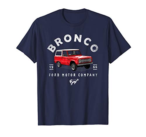 Ford Bronco '66 Illustrated T-Shirt