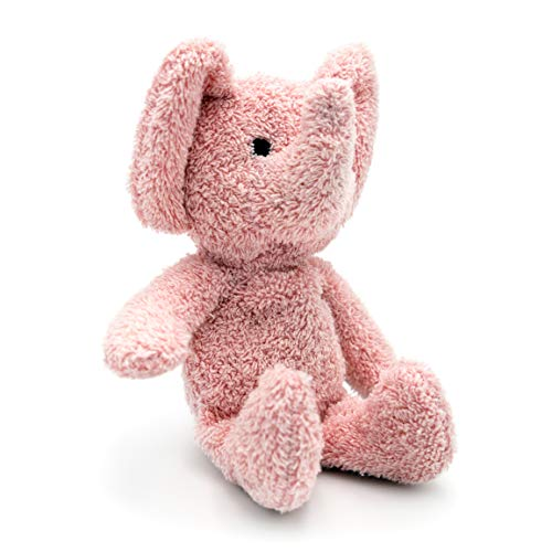 Thermal-Aid Zoo — Mini Tiny The Elephant — Kids Hot and Cold Pain Relief Boo Boo Tool — Heating Pad Microwavable Stuffed Animal and Cooling Pad — Easy Wash, Natural Sleep Aid