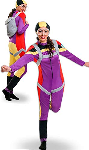 Yuppiyei Disfraz de Paracaidista para Mujer