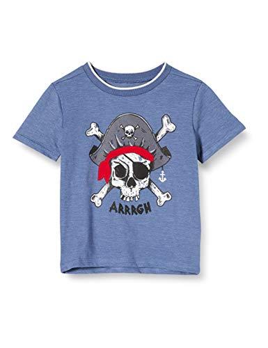 Camiseta para niños con piratas.