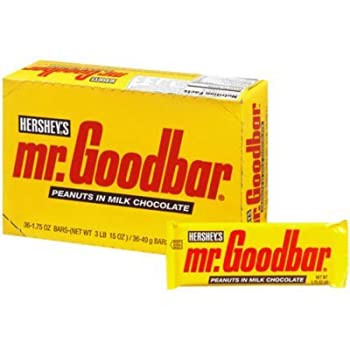 Hershey s Mr Goodbar Candy Bar  36 ct  by Hershey s