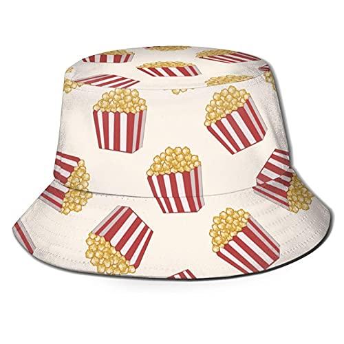 DJNGN Skull Camo Unisex Casual Bucket Sun Hat Gorra de Pescador para Pesca Senderismo Camping