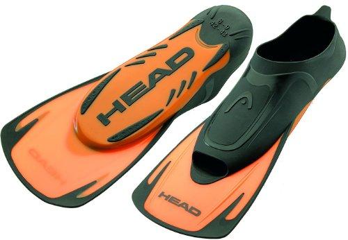 Head Cabeza energía Hoja Corta Aletas Naranja–natación Aletas para Nadar Entrenamiento [UK...
