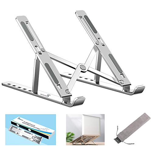 Proffisy Laptop Stand Adjustable Computer Stand Ergonomic Portable Tablet Stand