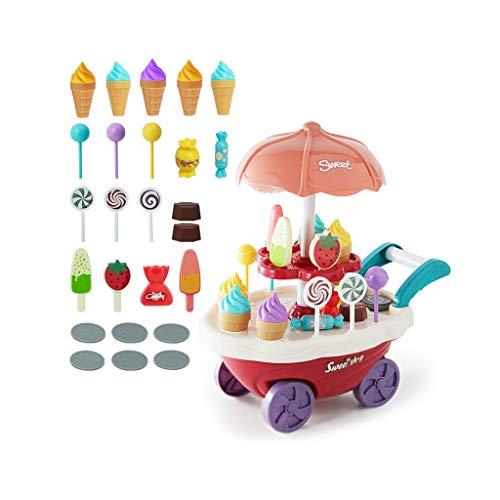 toy Küchen-Set, Happy Little Chef Pretends To Play, Küchen-Set, Mädchen, Süßigkeiten, Eis, Eis, Eis, Eis, Eis, Küchen-Set (25-teiliges Set zum Trainieren