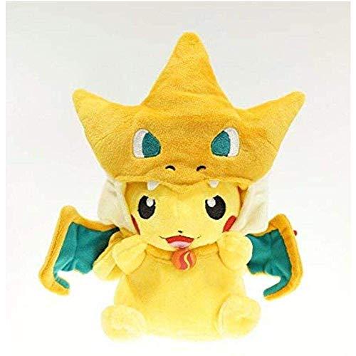 EREL Plüschtier New Cartoon Pikachu Cosplay Charmander Plüsch Spielzeug Nette Plüschfüllte Tiere Puppen Mode Cartoon Plüschtier 20 cm dedu