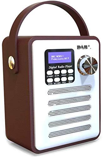 DAB Broadcast-Lautsprecher-FM-Player Multifunktions-MP3-Stereo-beweglicher drahtloser Bluetooth USB