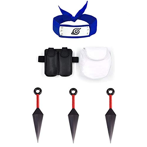 LACKINGONE Naruto, portátil, plástico, Grande, Kunai, Cuchillos para lanzar, dardo japonés, Accesorios para Cosplay de Ninja