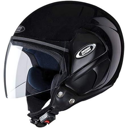 Studds Cub Open Face Helmet- Black (L)