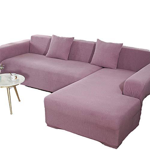 BLACK ELL Funda Cubre Sofá para Mascotas,Cojín Universal para sofá con reposabrazos, Funda de sofá de Tela elástica-D_235-300cm