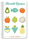 BookFactory Recipe Book/Recipe Journal/Notebook/Blank Cook Book - 120 Total Recipe Pages