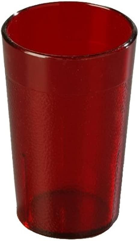 Carlisle 5501 5 Oz Stackable SAN Tumbler Ruby