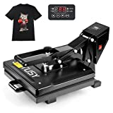 TUSY Heat Press-15 x 15 inch Digital Heat Transfer Sublimation, Industrial Quality T-Shirt Heat Press Machine