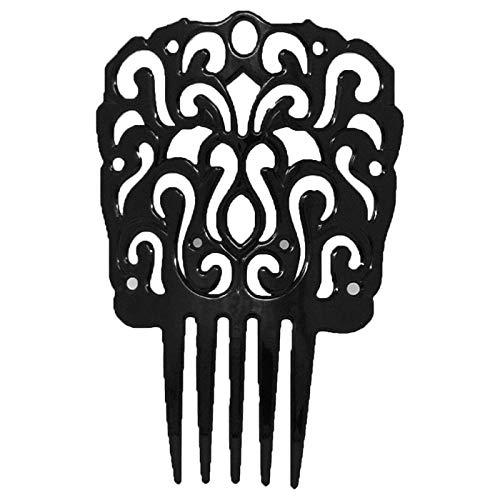 Peineta andaluza Negra 12 x 18 cm