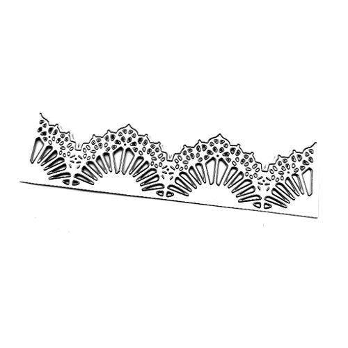 Selma. Plantilla de metal con marco de abanico, para álbumes de recortes, sello de papel, tarjeta de relieve, decoración para hacer tarjetas, regalo de bricolaje