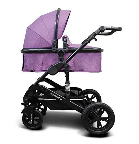 Cynebaby Kombi-Kinderwagen California Luxe (lila)