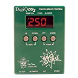 DigiQ BBQ Temperature Control, Digital Meat Thermometer, Big Green Egg Cooker or Ceramic