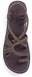 Flat Sandals for Women Palm Leaf