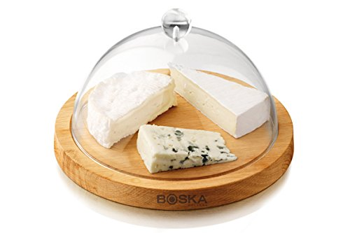 Materiali: rovere/plastica Dimensione: 260x 260x 160mm Perfetto per servire di formaggio