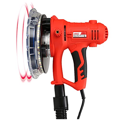 1250W Electric Wall Polishing Machine 3500R Drywall Sander Portable with Led Light,for Granite/Marble/Concrete/Stones Polished