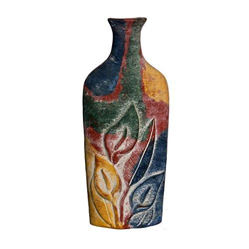 Discount Etnico - Vaso Bottiglie con Calle Misura H47 cm