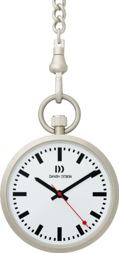 Danish Design Analog Quarz Taschenuhr IQ13Q660