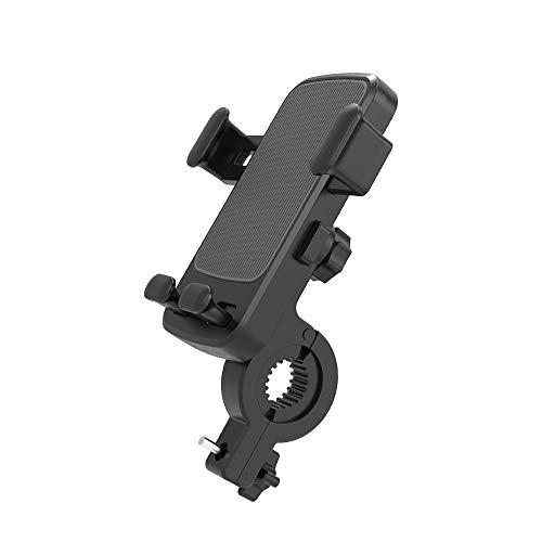Doriwy Porta cellulare Bike Supporto per telefono per moto/bicicletta Un pulsante di rilascio Supporto universale per cellulare Per Samsung iPhone Huawei e altri smartphone da 4.7-6.8 pollici