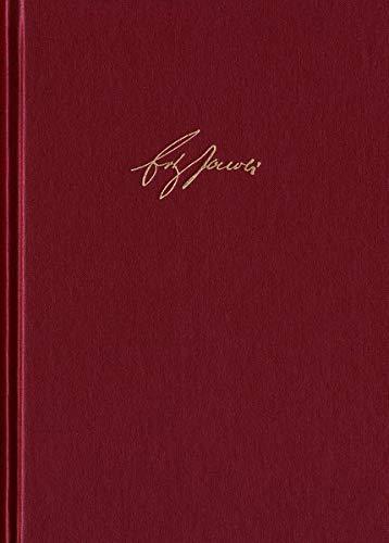 Friedrich Heinrich Jacobi: Briefwechsel - Nachlaß - Dokumente / Nachlaß. Reihe I: Text. Band 1,1-1,2: Die Denkbücher Friedrich Heinrich Jacobis: Die Denkbucher Friedrich Heinrich Jacobis