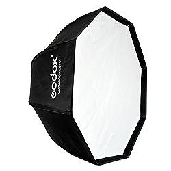 Godox SB-UE Softbox, 80 cm tragbar achteckig Softbox mit Bowens-Halterung für Blitzgerät
