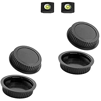 Compatible Con Canon EOS 5 Lente Posterior Tapas Cubierta Todos Ef Pack De 5