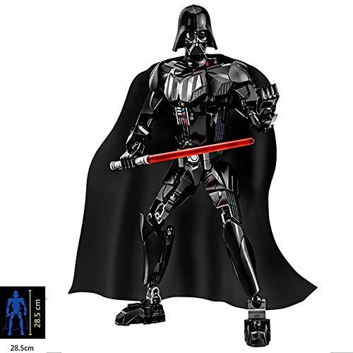 bas Star Wars Anime Figuren Schwarze Serie Und Kaiserlicher Sturmtruppler Bewegliches Statuenmodell Kindergeschenkspielzeug Darth Vader